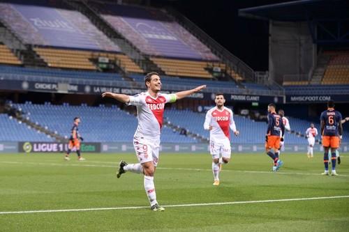 Монако на выезде выиграл у Монпелье в результативном матче