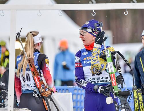 Оберхоф-2021. Германия выиграла женскую эстафету, Украина – 8-я