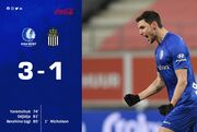 ВИДЕО. Яремчук забил важный гол. Гент выиграл у Шарлеруа в Кубке Бельгии