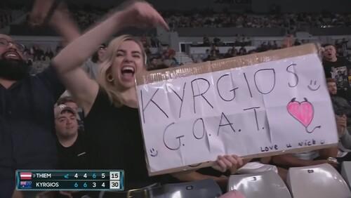 Australian Open. Тім здолав Кірьоса, програвши перші два сети