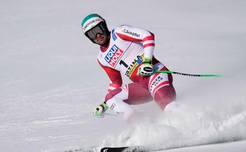 Горные лыжи. Крихмайр оформил победный дубль на ЧМ
