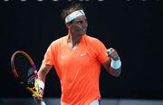 Надаль обіграв Фоньїні і вийшов до чвертьфіналу Australian Open