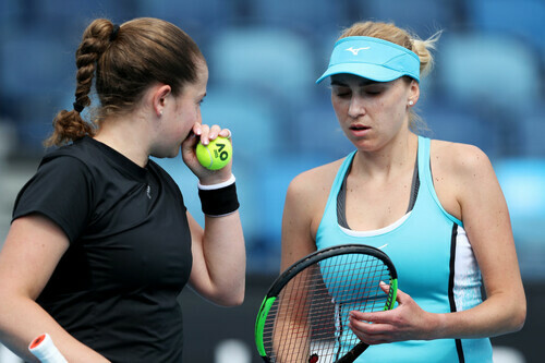 Людмила Киченок уступила в третьем круге парного разряда Australian Open