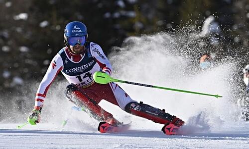 Горные лыжи. Шварц завоевал золото ЧМ в комбинации