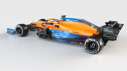 ФОТО. Команда Формулы-1 Макларен первой показала новый болид