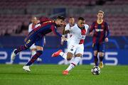 ВИДЕО. Мбаппе оформил хет-трик во втором тайме матча ЛЧ в Барселоне