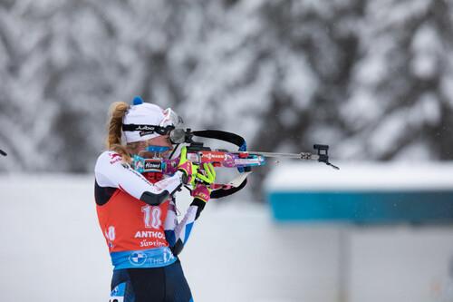 ЧМ-2021 по биатлону.  Меркушина заняла 13 место в индивидуальной гонке