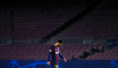 Месси в матче с ПСЖ повторил рекорд Рауля в Лиге чемпионов