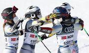 Горные лыжи. Норвегия – чемпионы мира в командном турнире