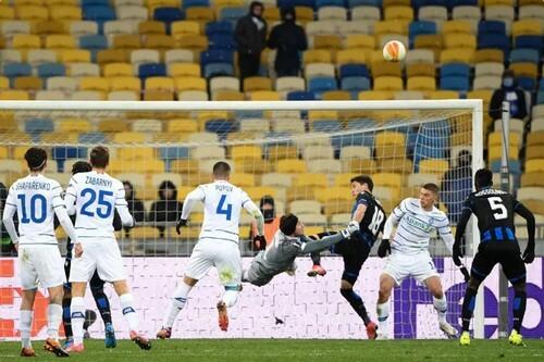 Динамо – Брюгге – 1:1. Текстовая трансляция матча