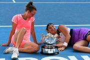 Второй титул Grand Slam. Соболенко и Мертенс выиграли Australian Open