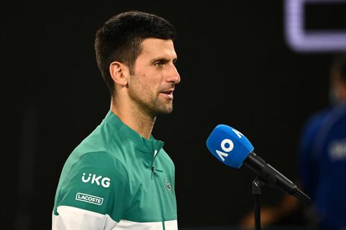 Джокович сравнялся с Надалем по количеству финалов на турнирах Grand Slam