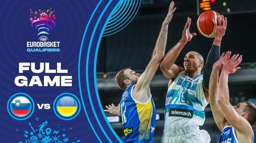Україна – Словенія. Євробаскет-2022. Дивитися онлайн. LIVE трансляція