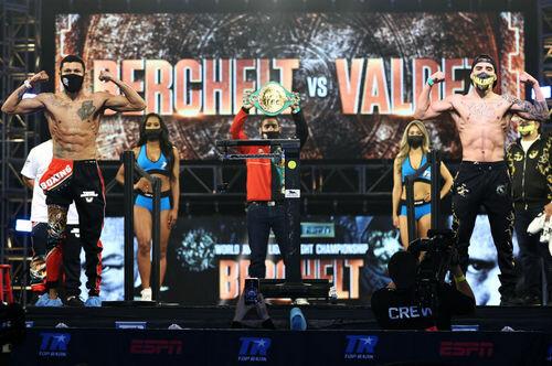 Победитель пары Берчельт — Вальдес может встретиться с Ломаченко
