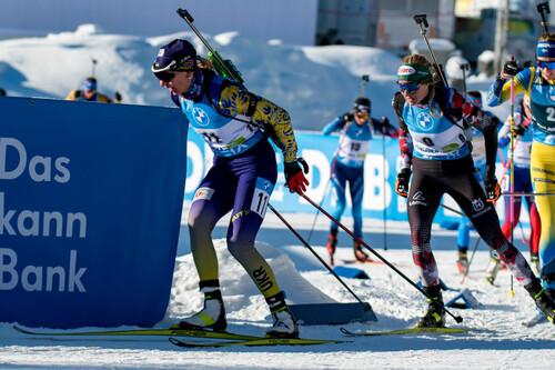 ЧМ-2021 по биатлону. Украинки третий год подряд завоевали бронзу в эстафете