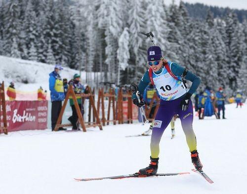 Брезно-Осрбли. Анне Кривонос не хватило 0,2 секунды до медали