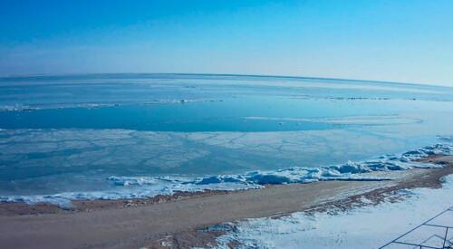 ВІДЕО. Краса: хокей на Азовському морі