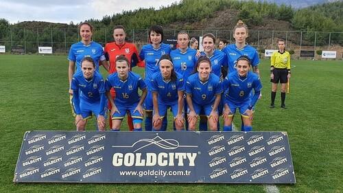 Женская сборная Украины сыграла вничью в контрольном матче