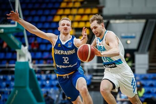 Сборная Украины во Дворце спорта с трудом обыграла Словению