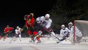 ВИДЕО. Классный гол Вегаса в матче НХЛ на открытом воздухе