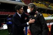 Удаление Индзаги. Рома Фонсеки в большинстве не забила ни гола Беневенто