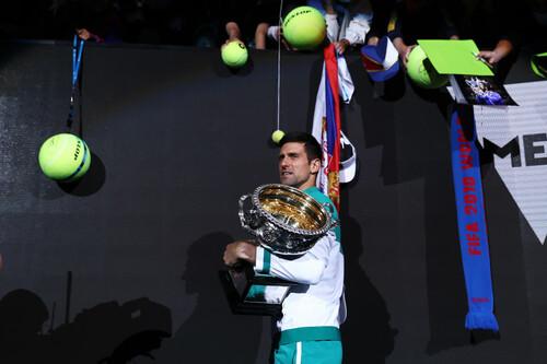 Федерер, Надаль і Джокович виграли 54 з 63 останніх турнірів Grand Slam