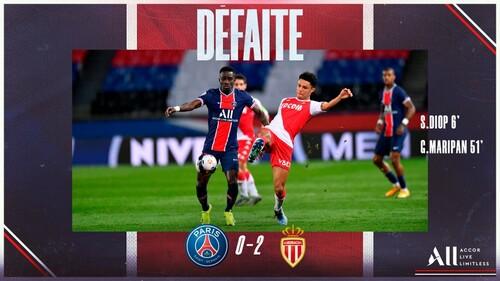 ПСЖ – Монако – 0:2. Видео голов и обзор матча