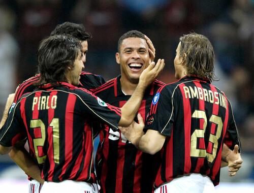 Як Роналдо намагався замінити Шевченка в Мілані