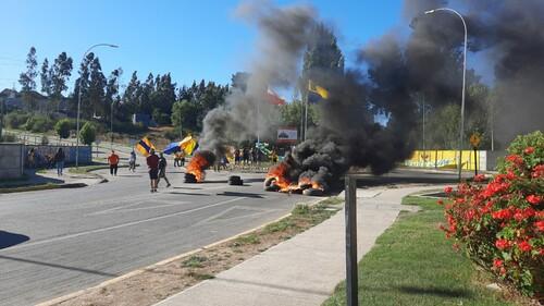ВИДЕО. Протестующие прервали финал теннисного турнира в Чили