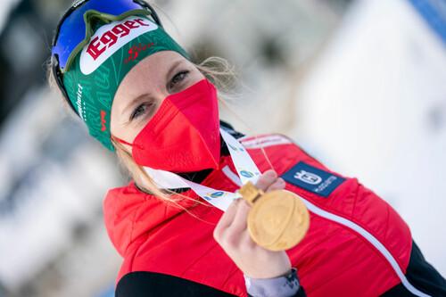 Лиза ХАУЗЕР: «Это исторический момент для австрийского биатлона»