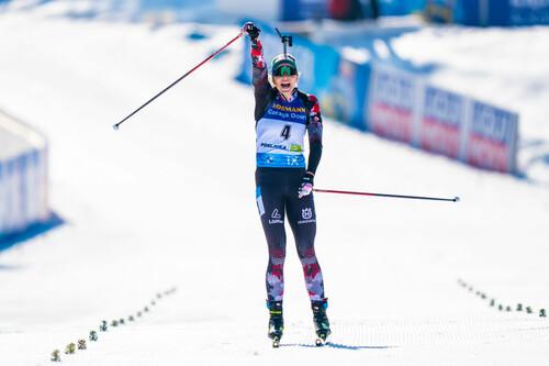 Хаузер – первая австрийка, выигравшая золото чемпионата мира