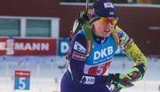 Украина – четвертая в женской эстафете на Кубке IBU