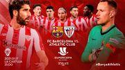 Барселона – Атлетик. Финал Суперкубка. Стартовые составы команд
