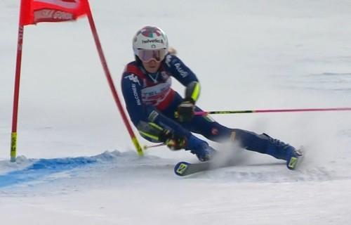 Горные лыжи. Бассино оформила победный дубль в Краньской Горе