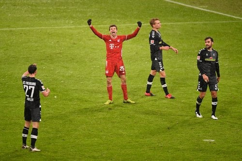 Бавария — Фрайбург — 2:1. Видео голов и обзор матча