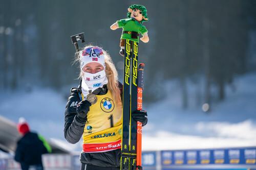 Экхофф стала самой титулованной биатлонисткой ЧМ-2021