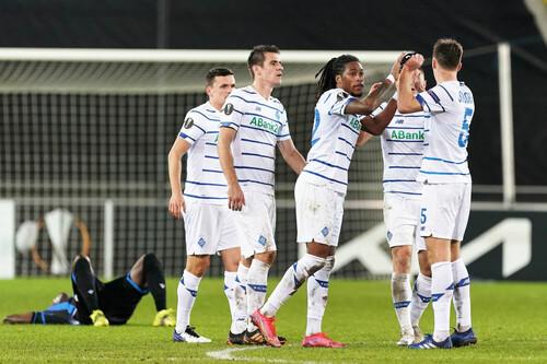 Победы Динамо и Шахтера в Лиге Европы, Мотор проиграл Ольборгу