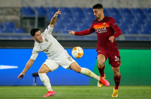 Рома — Брага — 3:1. Видео голов и обзор матча