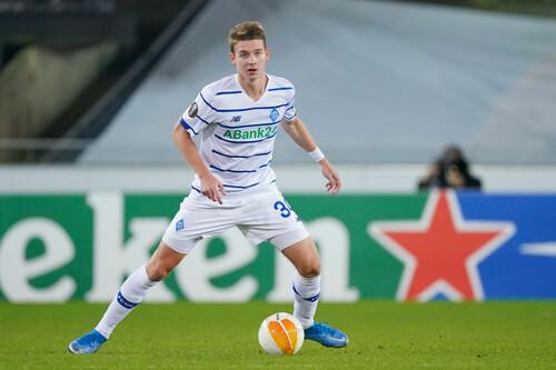 20-річний захисник Динамо потрапив до Команди тижня Ліги Європи
