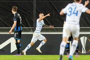 Динамо впервые взяло верх над бельгийцами в Лиге Европы