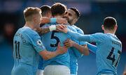 Еще восемь побед до рекорда. Манчестер Сити выиграл 20 подряд матчей