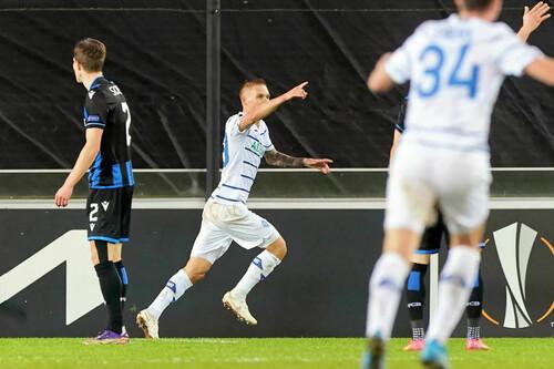 Динамо вперше перемогло бельгійців у Лізі Європи