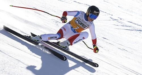 Горные лыжи. Четвертая подряд победа Гут-Бехрами