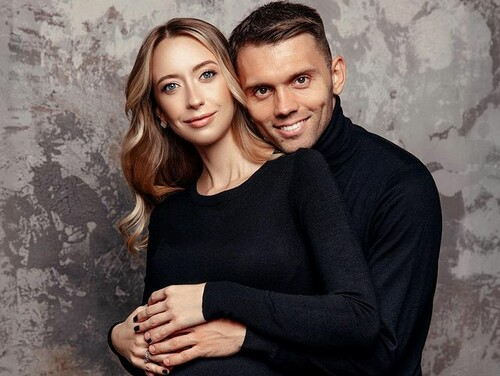 ФОТО. Назвали Кирилл. Защитник Динамо во второй раз стал отцом