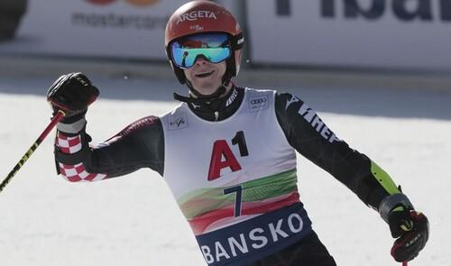 Горные лыжи. Зубчич выиграл гигант в Банско
