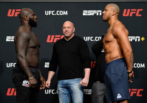 UFC: Жаірзіньо Розенстрайк – Сіріл Ган. Дивитися онлайн. LIVE трансляція