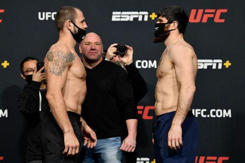 ВИДЕО. Крылов проиграл россиянину на UFC Fight Night 186