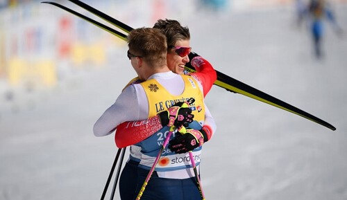 Лыжные гонки. Норвегия и Швеция – чемпионы мира в командном спринте