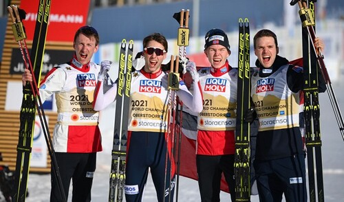 Двоборство. Норвегія - чемпіони світу в команді, Україна 11-та