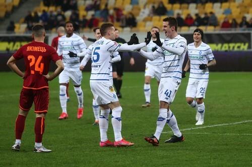 Динамо разгромом отправило Львов на последнее место турнирной таблицы